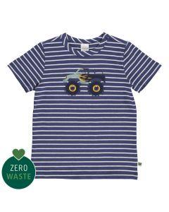 T-shirt mit Monster truck